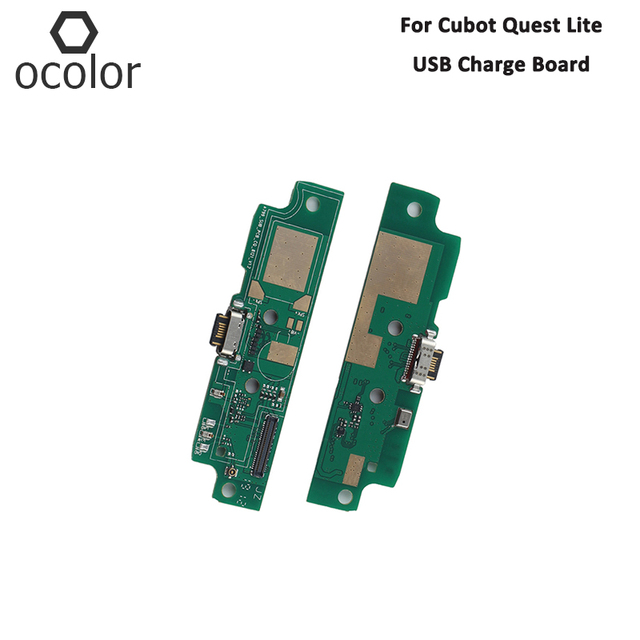 ocolor For Cubot Quest Lite USB Charge Board Assembly Repair Parts For Cubot Quest Lite USB Board Phone Accessories