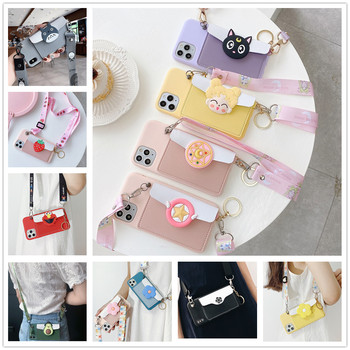 sailor-moon-leather-wallet-phone-case-for-samsung-galaxy-s6-s7-edge-s8-s9-s10-s10e-s21-s20-fe-plus-ultra-5g-lanyard-flower-cover