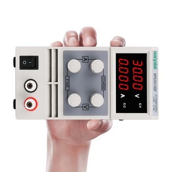 цена на Free shipping KPS3010DF 0-30V/0-10A 110V-230V 0.1V/0.001A EU LED Digital Adjustable Switch DC Power Supply mA display 4 digits