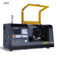 DIY School Home Small CNC Lathe Machine for Metal, Stainless Steel, Aluminum, Copper, Wood, Nylon