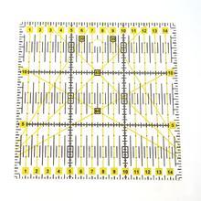 Herramienta de costura de reglas de corte de tela de raso a medida de pies cuadrados de retazos DIY