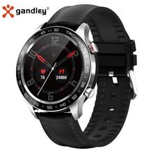 Smart-Watch Blood-Pressure Gandley IP68 Android Monitor IOS Fo R5 Man Wonmen