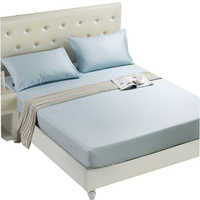 Nueva llegada sábana de cama de Casa sábana ajustada banda elástica Funda de colchón funda de cama de Hotel antideslizante ropa de cama colcha