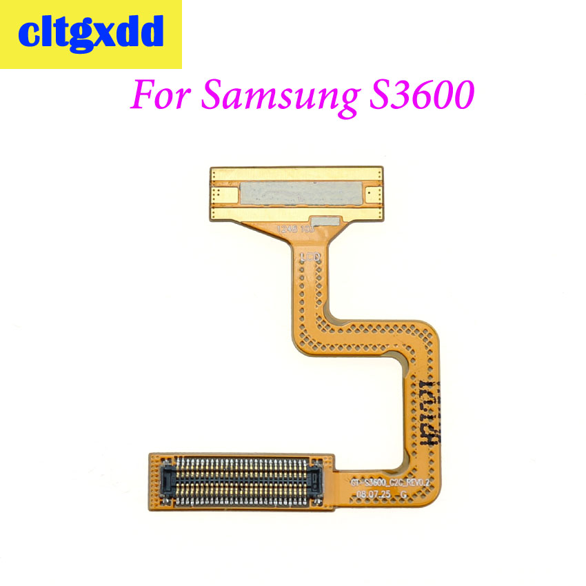 Cltgxdd 1pc For Samsung S3600 S3600C S3601 S3601C GT-S3600 Pantalla LCD Display Screen Connector Motherboard Ribbon Flex Cable