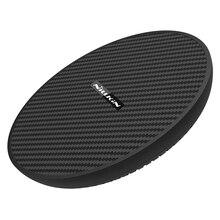 15W Snelle Draadloze Lader Koelventilator Nillkin Qi Snelle Draadloze Opladen Pad Nylon Voor Iphone X Xr Voor Samsung s10/S9/Note 8 Mi 9