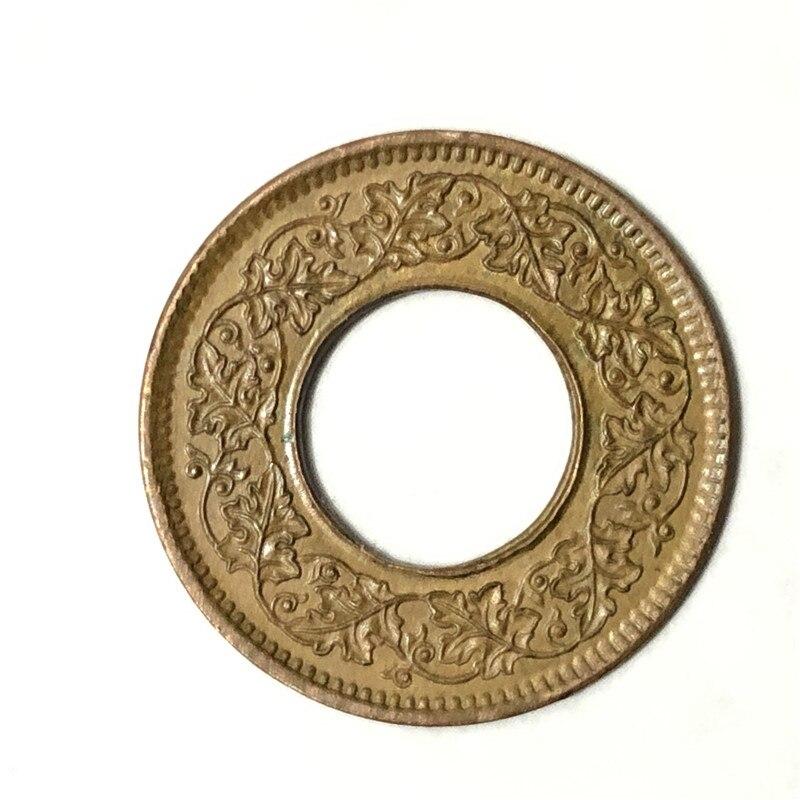 Индия 1 Pice KM #533, Индия-британский, 1943-47 GeorgeVI , EF, бронзовая монета, 21,4 мм