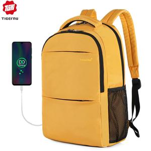 Image 1 - Tigernu 2020 New Fashion Women Anti theft Laptop Backpacks Scratchproof Female School Backpacks Travel Feminina Mochilas Casual