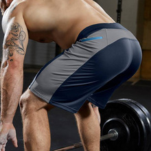 2020 New Gym Shorts Men Training Fitness Sport Shorts Running Men Summer Beach Shorts Workout Quick Dry Jogging Short Pants
