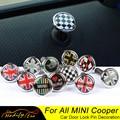 2 шт., штифты из углеродного волокна и цинкового сплава для дверного замка Mini Cooper S One JCW Clubman Countryman R55 R56 R57 R60 R61 F54 F55 F56 F57 F60