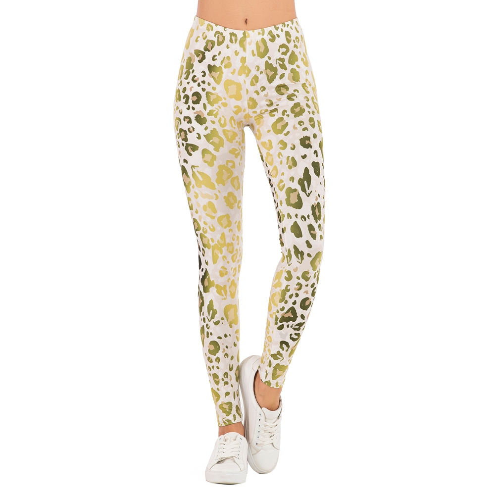 Brands Women Fashion Legging Fluorescent tree branch Printing leggins Slim High Waist Leggings Woman Pants 14