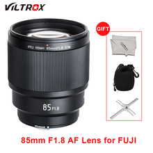 VILTROX 85mm f/1.8 Lenses Full-Frame AF Fixed focus Lens Auto Focus Lens  for Fujifilm Fuji FX-mount Camera F1.8 FX-Mount Lens все цены