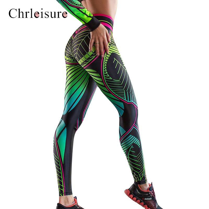Fashion Printing Legging Women High Waist Workout Leggings Push Up Women Fitness Legging