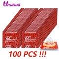 Adulto grandes preservativos 50 pçs 100 pçs natural látex artigos íntimos preservativo contracepção brinquedos sexuais para homem pênis manga extensor