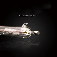 Highlights  CO2 laser tube Metal Head 800MM 50W Dia.50 Glass Pipe Lamp for CO2 Laser Engraving Cutting Machine