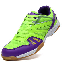 Table Tennis Shoes Breathable For Men Women Sports Shoes Antiskid Shock Absorption Indoor Sport Sneakers 2 orders(China)