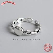 Женские кольца pofunuo из стерлингового серебра 925 пробы в