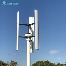 Vertical Wind Turbine Generator 300w 400w 600w 12v 24v 48v with controller or on/off grid inverter 3 Phase With 3 blades forHome 1 7m wheel diameter 3 blades three phase 500w 24v or 48v wind turbine generator for wind solar hybrid system