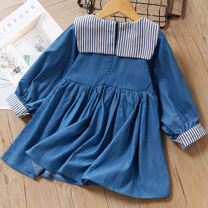 Menoea Children Clothing Suits 19 Autumn Fashion Style Girl Cowboy Long-Sleeve Mesh Dress Design For 3-8Y Kids Girls Sets 28