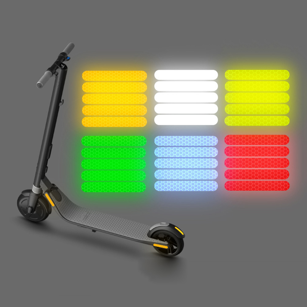 Electric Scooter Reflective Safety Stickers for Ninebot Segway ES4 ES3 ES2 ES1