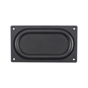 Image 4 - GHXAMP 135*75MM Bass Diaphragm Radiator Low Frequency Rubber 3.5 inch 4 inch Passive bass Vibration film New 2PCS