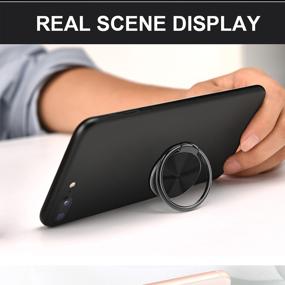 360 Rotating Finger Ring Holder Universal Phone Stand Grip For iPhone 7 Plus Mount Tablet Stand Smart Cell Phone Buckle Bracket in Phone Holders Stands from Cellphones Telecommunications