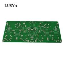 Lusya Amp Sch 6J4/6AU6 EL84/6P14 Pcb Board Push Pull Eindversterker Gal Machine T1094