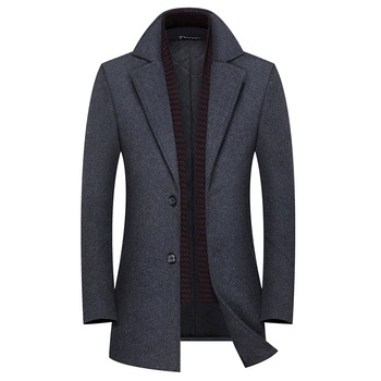 High Quality Wool Coat, Cashmere Jacket for Men, Winter Cashmere Coat, High Quality Cashmere Coat, Cashmere Coat for Men 2019 high quality wool coat for men winter wool coat pea coat for men autumn wool blend jacket cashmere coat for men real rabbit