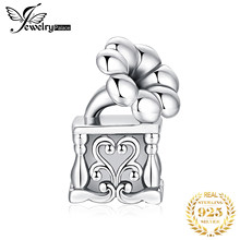 JewelryPalace Music Box 925 Sterling Silver Beads Charms Silver 925 Original For Bracelet Silver 925 original For Jewelry Making(China)