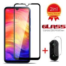 2-in-1 Camera Protector For Xiaomi Mi 9T 9 SE 8 A2 Lite A3 Glasses Protective Glass On Redmi Note 7 Pro Lens Film Cover
