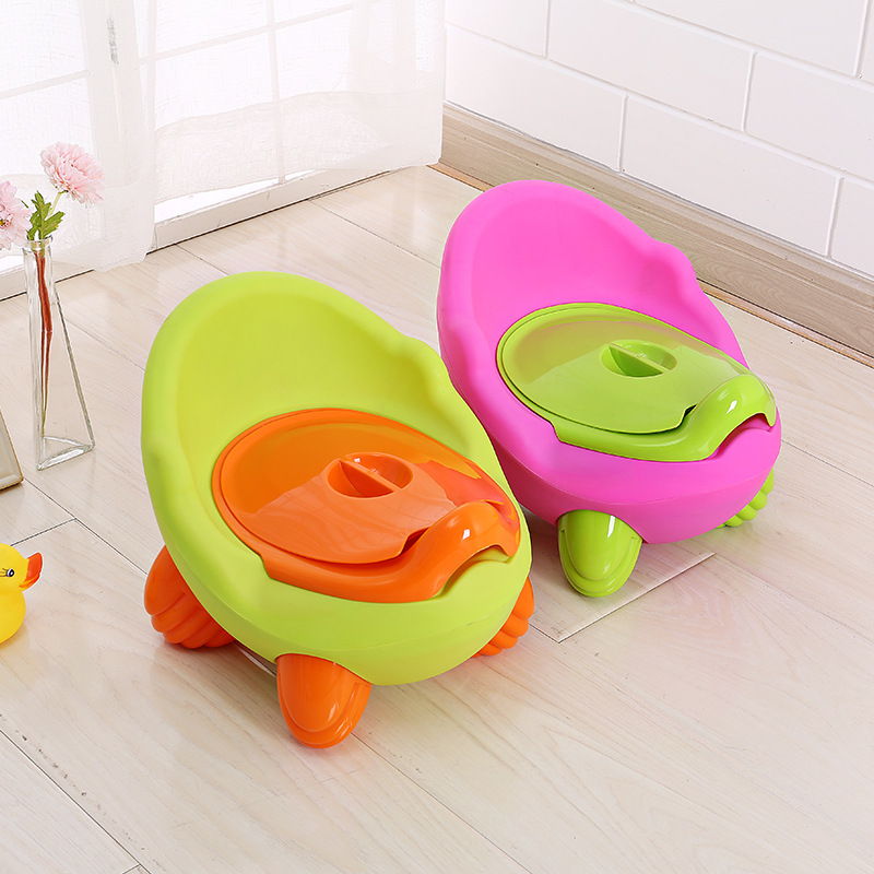 Children Do Pedestal Pan GIRL'S And BOY'S Urinal 0-6-Year-Old Plus-sized Baby Pull Will Wall-hung Urinal Shit Kids Stool Basin