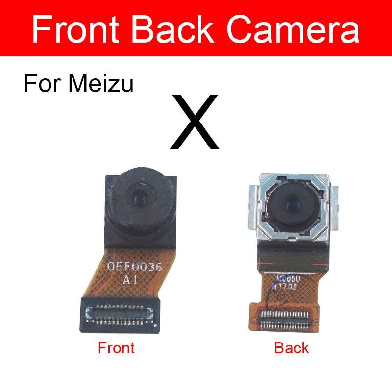 Module de caméra avant et arrière câble flexible pour Meizu bleu charme Meilan X M3x caméra principale petite caméra pièces de rechange de rechange