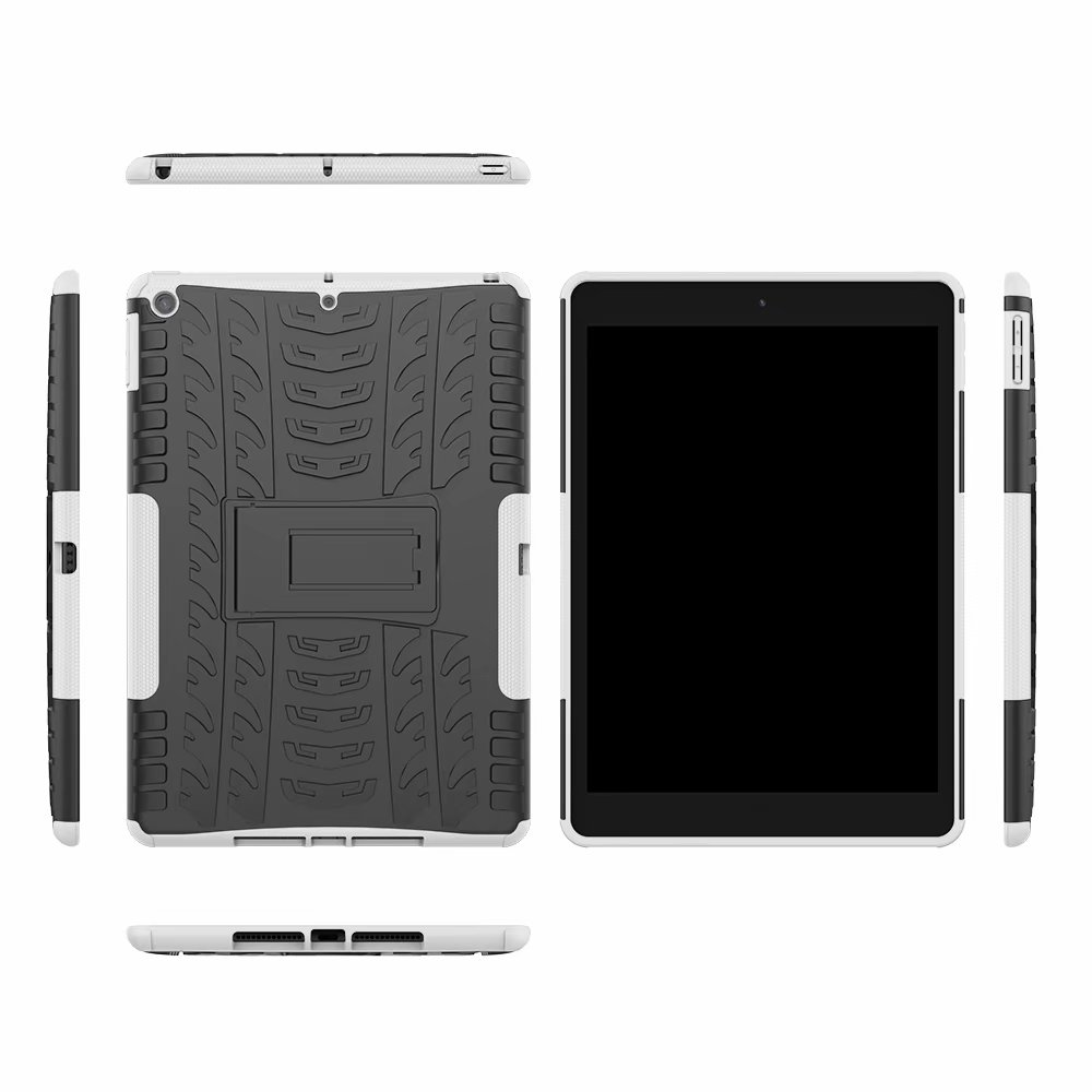 Hybrid-Armor for Heavy-Duty Child Shockproof Rugged Defender iPad Case-Cover Kids Apple