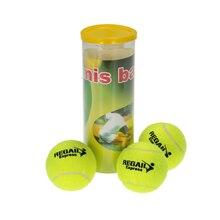 3 шт./может Теннисный тренировочный мяч для тренировок с высокой стойкостью прочные теннисные мячи для начинающих соревнований