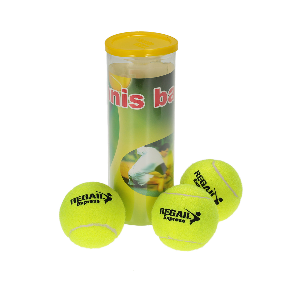 3PCS/Can Tennis Training Ball Practice High Resilience Training Durable Tennis Ball Training Balls For Beginners Competition
