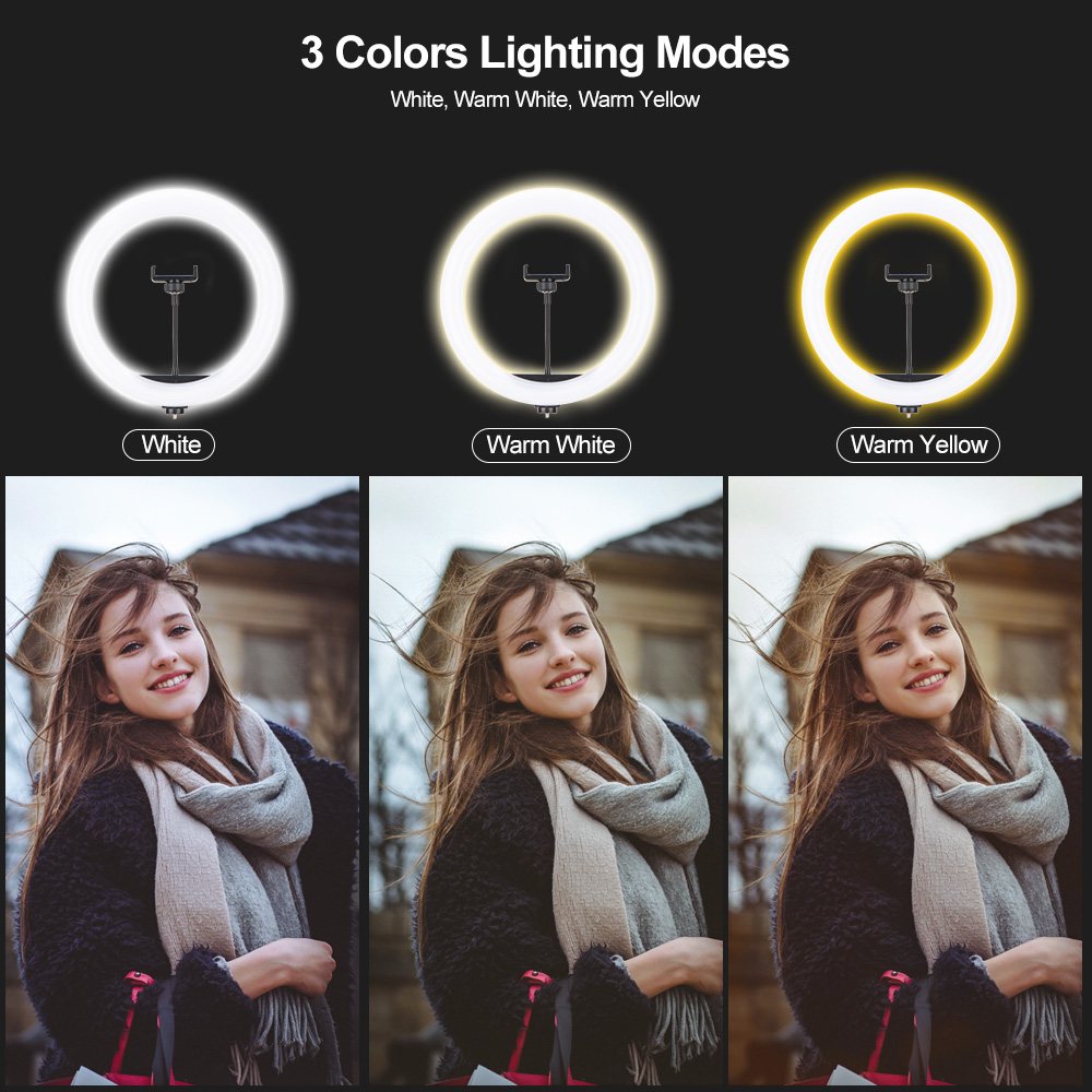 12 Inch LED Ring Light  7