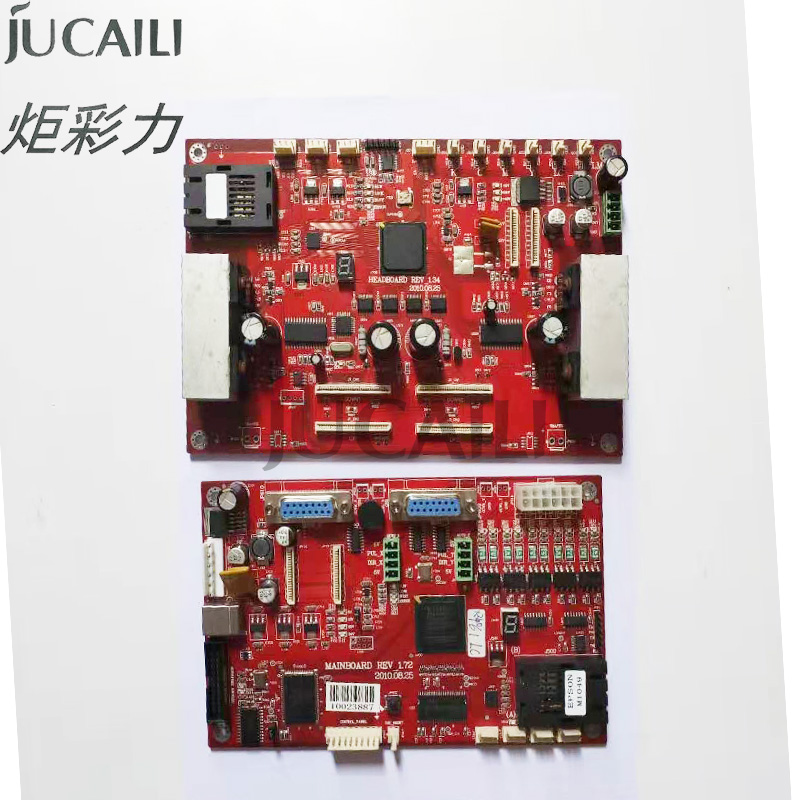Jucaili Good Price Printer Board Kit For Galaxy DX5 Double Head Boards Carriage Board Main Board For Eco Solvent Printer
