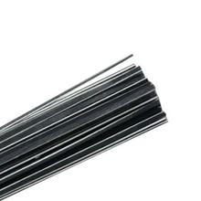 100pcs maple wood violin purfling black white black wood strips 2.5*1.3mm*970mm