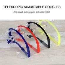 Óculos de segurança óculos transparentes óculos de laboratório de trabalho óculos respingo proteção para os olhos ciclismo anti-vento