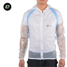 ROCKBROS Outdoor Riding Mountain Bicycle Cycling Raincoat Breathable Compressed Windshield Waterproof Clothing