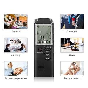 Image 3 - מקצועי 8GB מקליט קול עט USB MP3 נגן mult פונקצית דיקטפון הדיגיטלי אודיו מקליט ראיון עם VAR/VOR