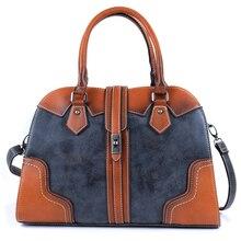 2019 New Luxury Vintage Women Leather Handbags Designer Brand Crossbody Bags for Women Shoulder Bag Laides Hand Bag Purse Tote