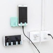 2020 universal telefone sucção gancho de parede de carregamento cabo de parede pendurado rack montagem cabide suporte de cabo de carga casa tomada de energia suporte