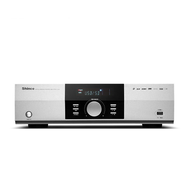 S9007A home theater <font><b>HIFI</b></font> <font><b>amplifier</b></font> 5.1 350W Bluetooth fiber coaxial U disk SD high power KTV digital karaoke high fidelity image