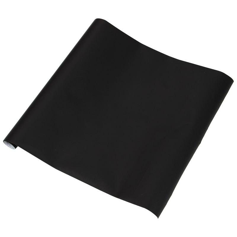 Chalkboard Blackboard Stickers Removable Draw Erasable Blackboard Learning Multifunction Office (White, 45*100cm)