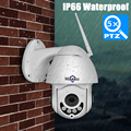 Hiseeu Мини PTZ IP камера Высокоскоростная купольная камера IP 1080P 5X оптический зум 2MP Открытый водонепроницаемый CCTV видеонаблюдения ONVIF