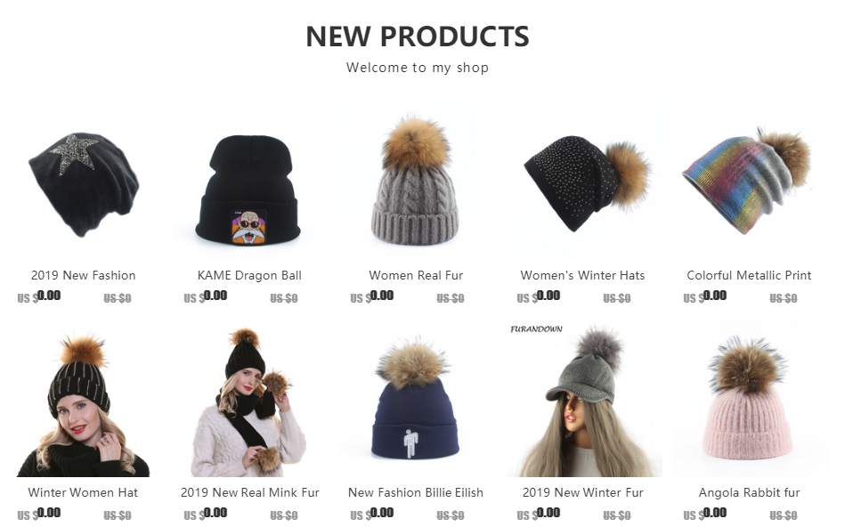 2019 Womens Hats With Scarf Warm Fleece Inside Beanie Girls Winter Cap For Women Real Mink Fur Pompom Hat Female Knitted Caps 142