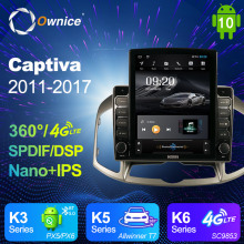 Autoradio Captiva Android Chevrolet 2din Multimedia Gps Navigation Ce Ownice for DSP