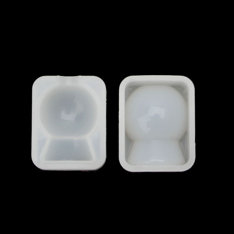 Large Ball Bulb Oval Round Square Shape Silicone Resin Mold Soap <font><b>Wax</b></font> Candle Mold image