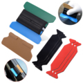FOSHIO Vinyl Wrap Auto Film Magnetische Rakel + 6 stücke Schaber Mischsystems Stoff Tuch Carbon Faser Aufkleber Fenster Tönung Tool Kit zubehör