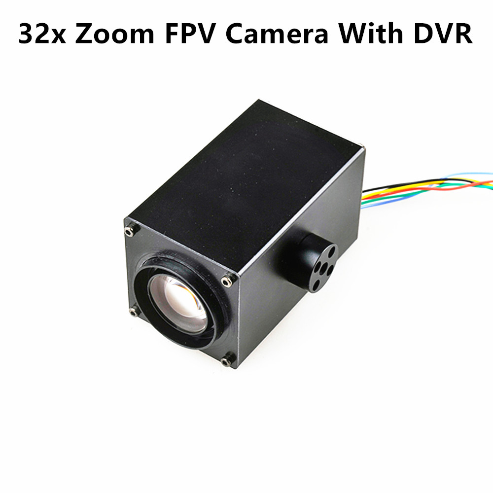 Happymodel HC700R 32x Zoom Camera 1080P With DVR 64G SD Card Holder AV Signal Output Camera For RC FPV Racing Quadcopter